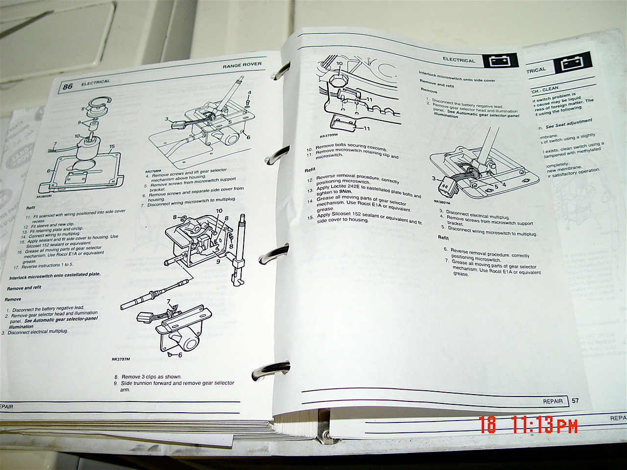DSC07887 reverse gear interlock valve siezed land rover forums land smart start interlock wiring diagram at gsmx.co
