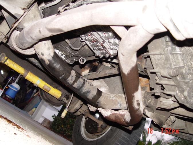 reverse gear interlock valve seized, PRIMARY REGULATOR IS STUCK